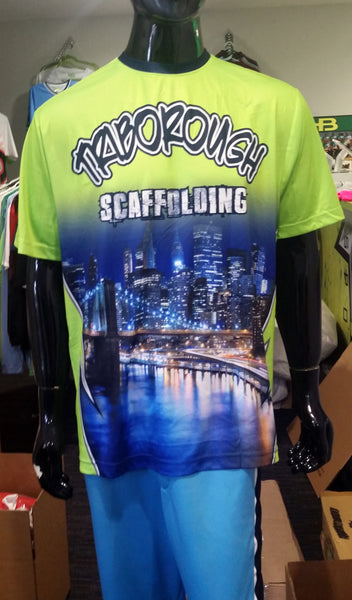 Triborough Scaffolding - Custom Full-Dye Jersey