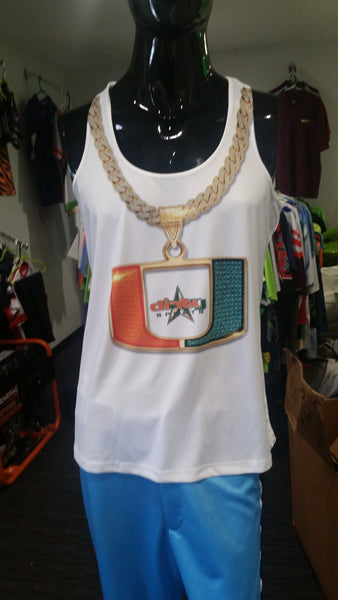 Turnover Chain - Miami HURRICANES - Women's TANK TOP