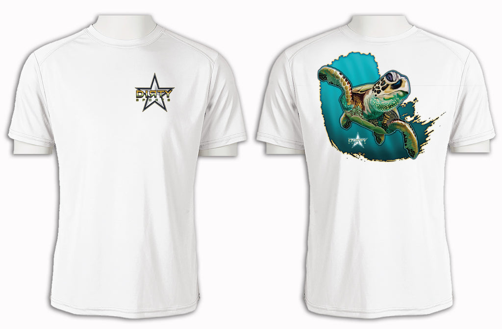 Sea Turtle - Short Sleeve Polyester Shirt