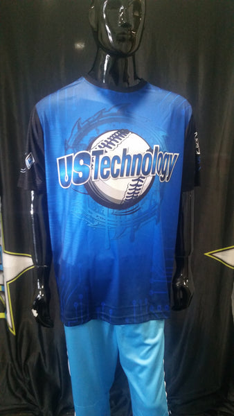 US Tecchnology, Blue - Custom Full-Dye Jersey
