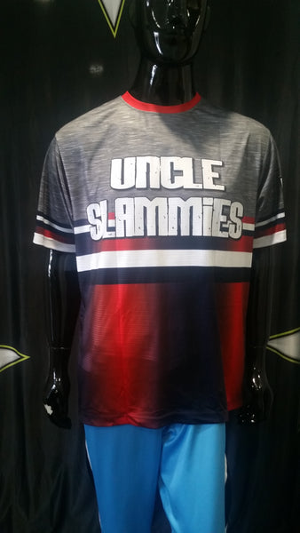 Uncle Slammies, Heather Gray - Custom Full-Dye Jersey