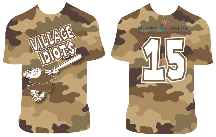 Village Idiots - Custom Full-Dye Jersey