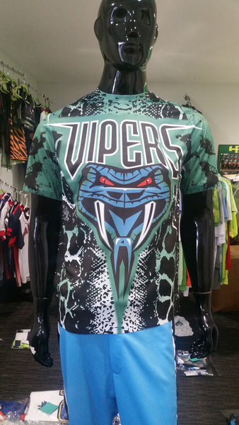 Vipers, Snakeskin - Custom Full-Dye Jersey