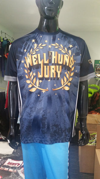 Well Hung Jury - Custom Full-Dye Jersey
