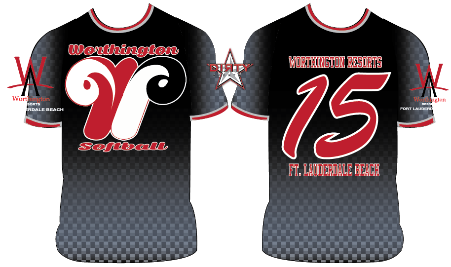 Worthington Resorts - Custom Full-Dye Jersey