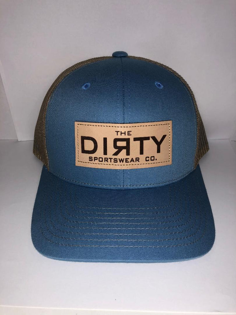#241 Carolina Blue & Tan - Dirty Patch
