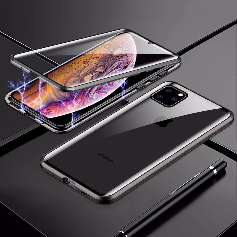 Strong Magnetic Double-side Tempered Glass - N.Packs