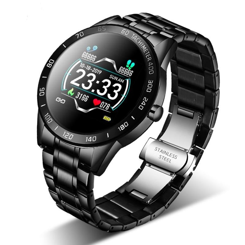 Steel Band Smart Watch Heart Rate