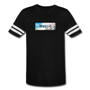 X Vintage T-Shirt - black/white