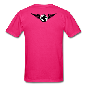 World Deluxe N.Packs T-Shirt - fuchsia