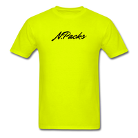 World Deluxe N.Packs T-Shirt - safety green