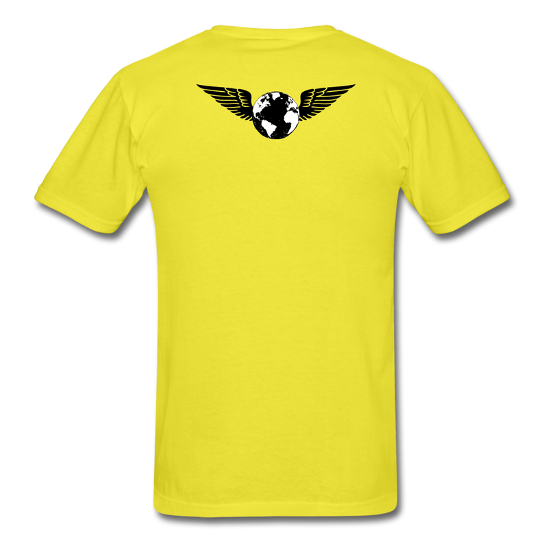 World Deluxe N.Packs T-Shirt - yellow