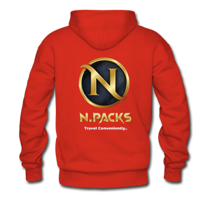 Nation's Capital Hoodie - red