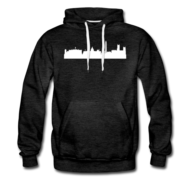 Nation's Capital Hoodie - charcoal gray
