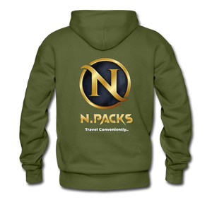 Nation's Capital Hoodie - olive green