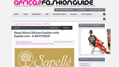 Africa Fashion Guide Directory - 25 June, 2012