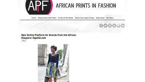 African Prints in Fashion Blog - 13 June, 2012