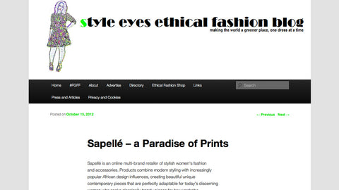 Ethical Fashion Blog - A Paradise of Prints - 15 October, 2012