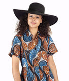 Sapelle african design style hat global style fusion trend ethical fashion african