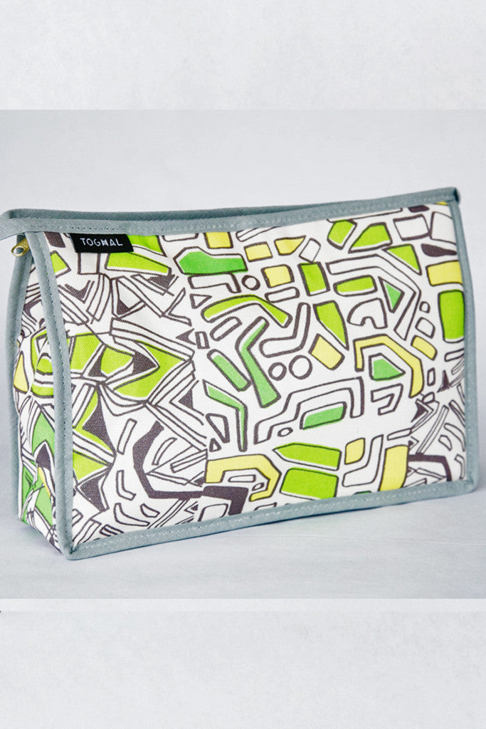 Toghal Cotton Lined Cosmetic Bag