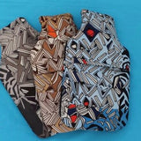 African Print Covered Hot Water Bottle