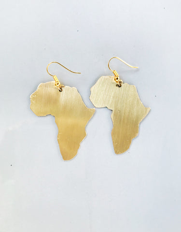 Sapelle Ahima Africa Earrings Jewellery Jewelry Brass