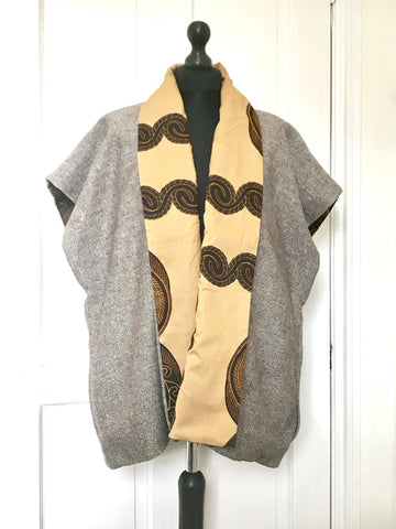 African Print Lined Jacket
