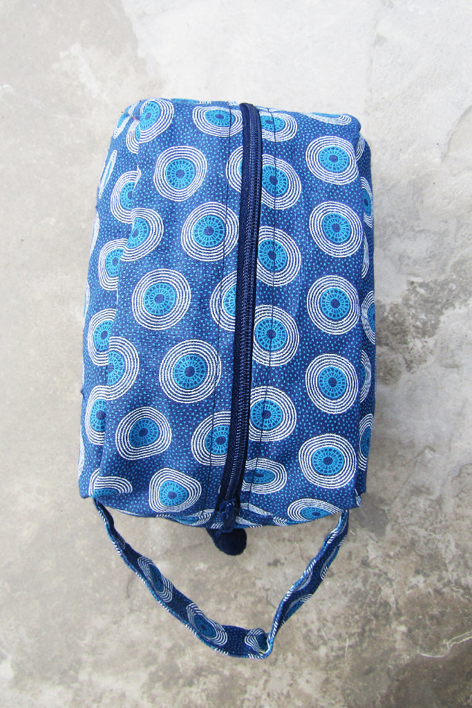 Sapelle Shweshwe Cosmetic All Purpose Bag