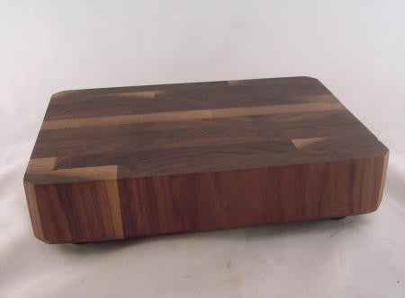"Small Walnut Butcher Block   11"" x 7"""