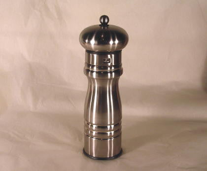 "8"" Heavy Metal Pepper  Mill by William Bounds"