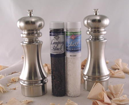 "7"" Knight Salt/Pepper Mills Set by William Bounds"