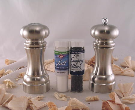 "6"" Salt Shaker & Pepper Mill Gift Set by William Bounds"