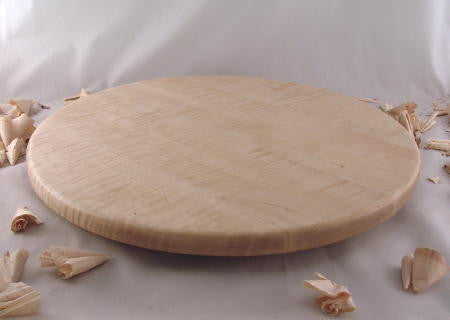 "20"" Tiger Maple Lazy Susan"