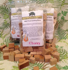 2 lbs Cherry Wood BBQ Smoking Blocks