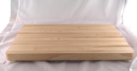 "20"" x 14"" x 1.5"" Large Maple Cutting Board"
