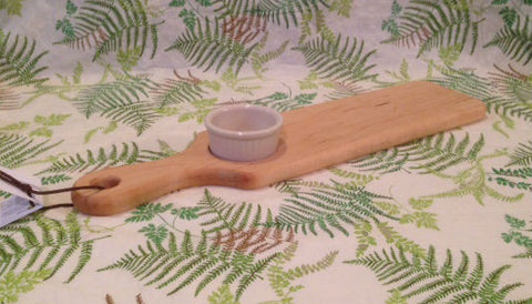 Maple Paddle Board with Oil Dipper