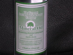 8 oz. Food Grade Mineral Oil