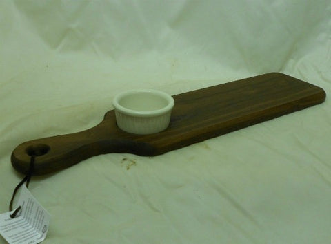 Walnut Paddle Board with Oil Dipper