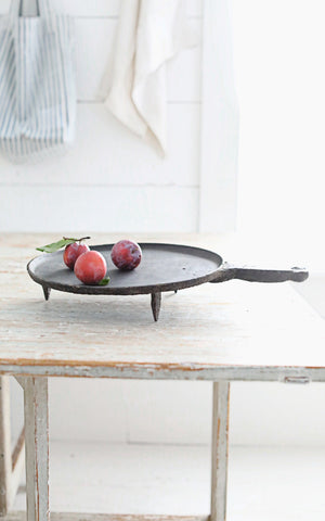 Vintage French Cast Iron Pan
