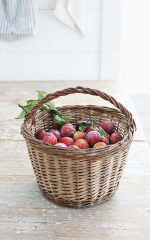 Vintage French Strawberry Basket