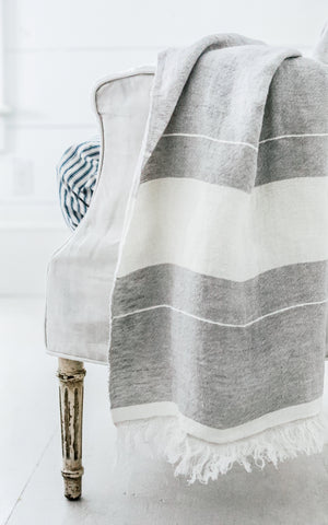 The Belgian Towel Fouta Gent Stripe