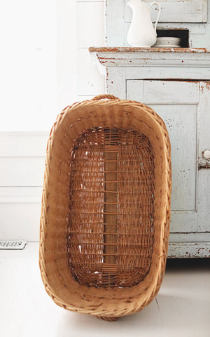 Vintage French Basket