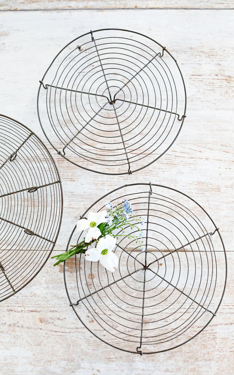 Vintage French Cooling Racks
