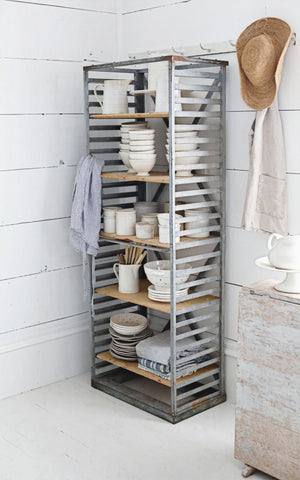 Vintage French Boulangerie Rack