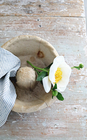 Vintage French Dough Proofing Basket