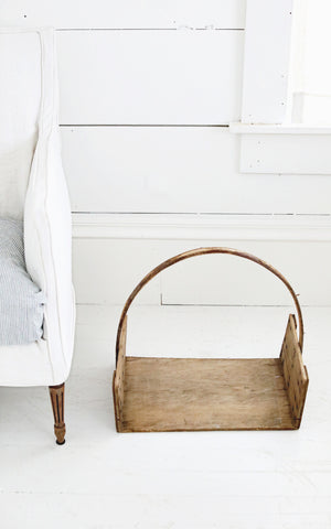 Vintage French Trugg