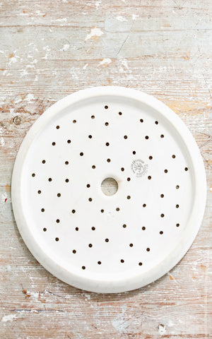 Vintage Dutch Ironstone Strainer