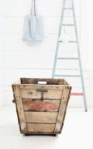Vintage French Champagne Crate