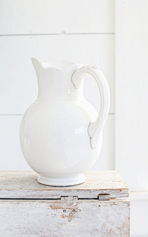 Vintage Dutch Ironstone Pitcher