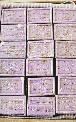 Set of Five French Lavender Soap